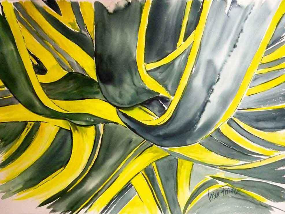 aquarell-aloe-denia