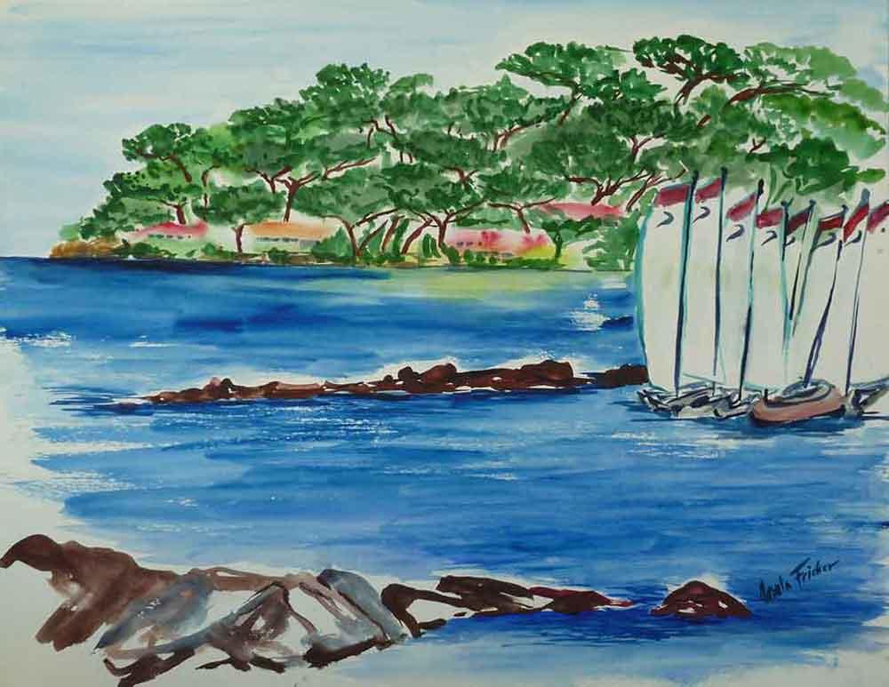aquarell-yacht-bucht